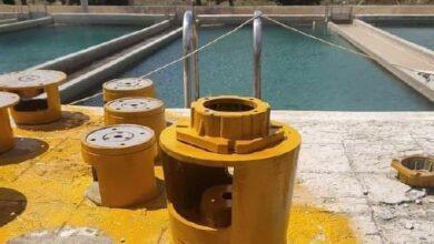 صورة ترميم محطة تصفية مياه سد المشنف بتمويل من اللجنة الدولية للصليب الأحمر