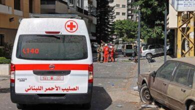 """صورة مقتل 6 أشخاص وجرح العشرات جراء اعتداء مسلحين على تظاهرة ل """"حزب الله"""" و""""حركة امل"""" وسط بيروت"""