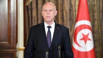 صورة الإعلان عن تشكيل الحكومة التونسية الجديدة