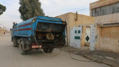 صورة 725 ألف لتر من المازوت التدفئة دفعة أولى لمدارس حماة