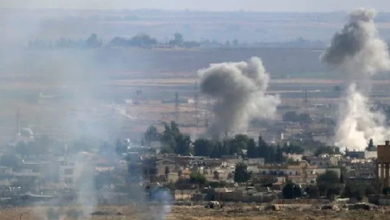 """صورة """"التركي"""" يعتدي بقذائف صاروخية على قرى شمالي غربي الحسكة"""
